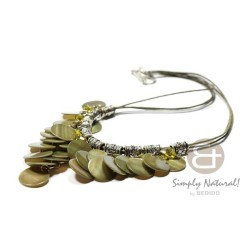 Cleopatra Necklace Olive...
