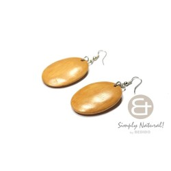 Natural White Wood Oval...