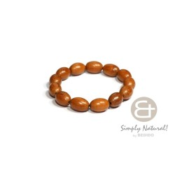 Bayong Oval Wood Beads...