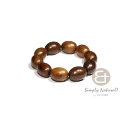 Robles  Oval Wood Beads...