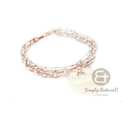 Copper Wire Choker White...