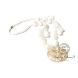 Troca Garlic Shell Necklace...