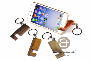 Iphone Android wood keychain
